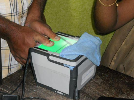 Aadhaar biometric Data