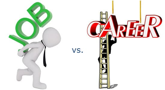 Job vs Career - difference between a job and a career