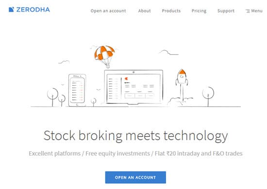 Zerodha Demat and Trading Account in India