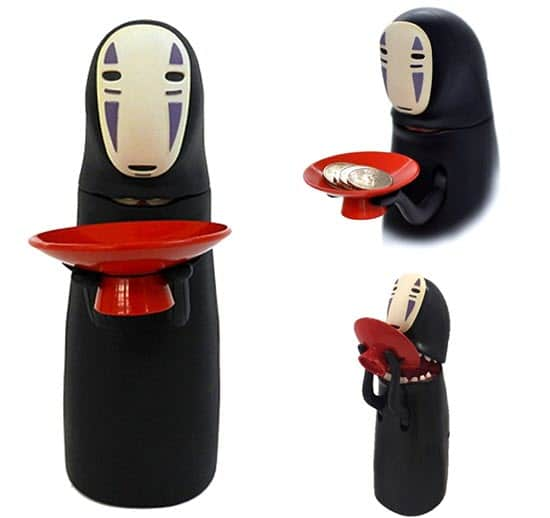 No-Face Piggy Bank